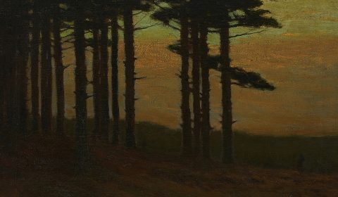 Charles Warren Eaton, Edge of a Pine Forest