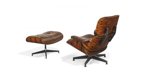 Charles and Ray Eames for Herman Miller, '670/671' lounge chair and ottoman