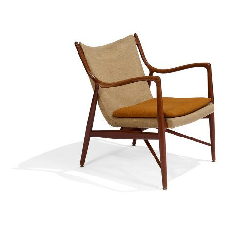 Finn Juhl for Niels Vodder, 'NV-45' lounge chair