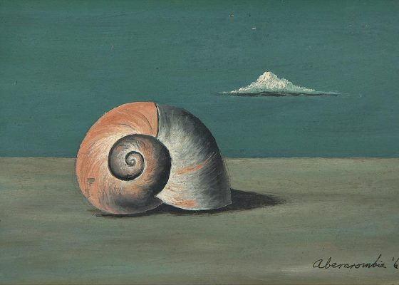 Gertrude Abercrombie, Shell with Cloud, 1969