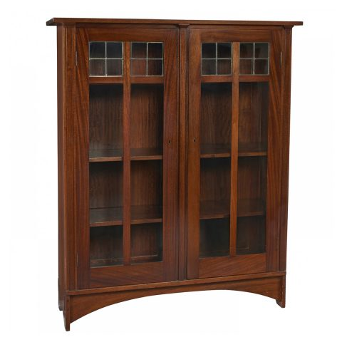 Gustav Stickley, bookcase, #702