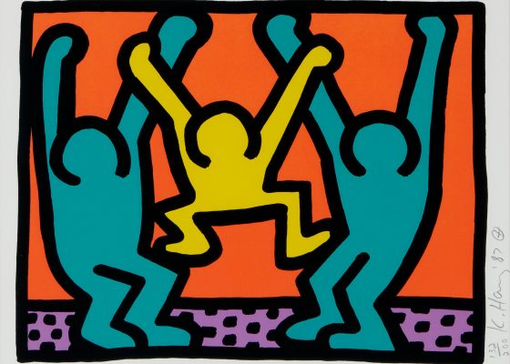 Keith Haring, Pop Shop I, 1987
