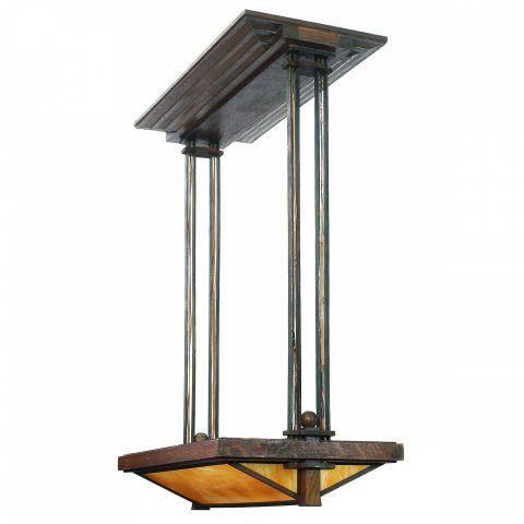 Frank Lloyd Wright Light Fixture