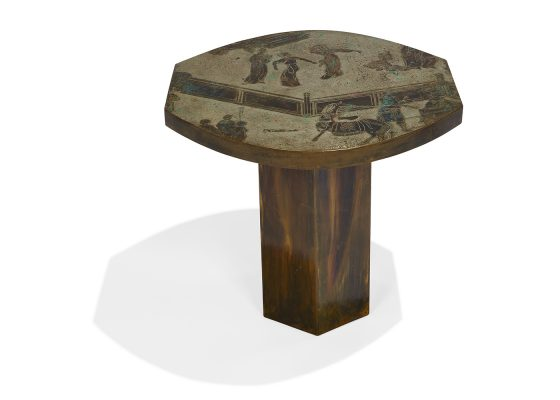 Philip LaVerne and Kelvin LaVerne, occasional table