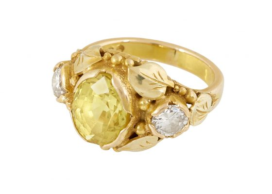 Susan Oakes Peabody, ladies ring