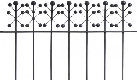 louis sullivan elevator grille cast and wrought iron
