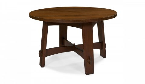 Gustav Stickley, library table