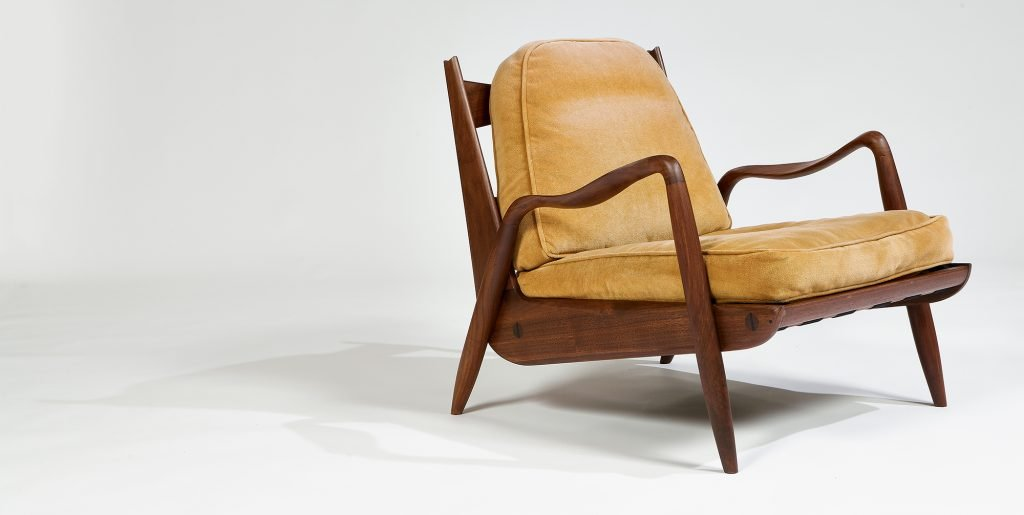 Phillip Lloyd Powell New Hope lounge chair