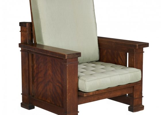 Frank Lloyd Wright Reclining Chair