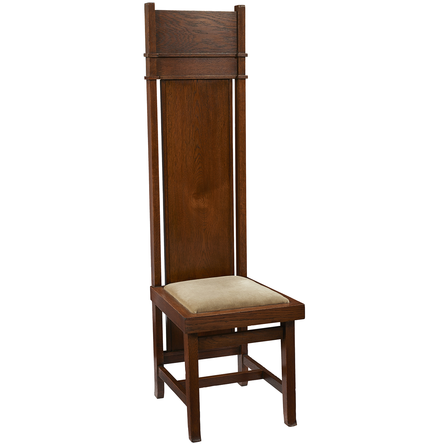 Frank Lloyd Wright High-Back Chair