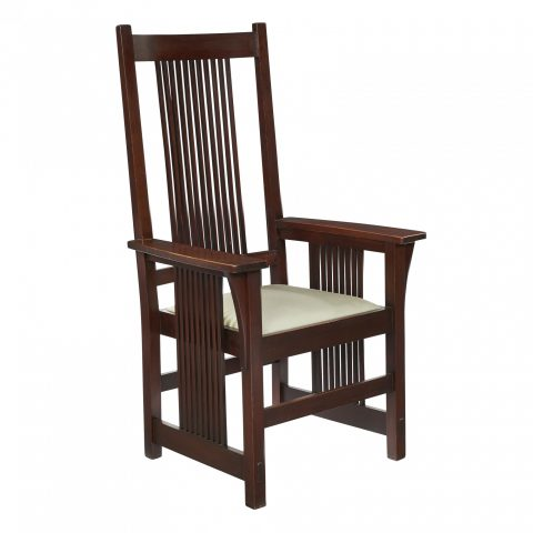 Gustav Stickley Spindle Armchair