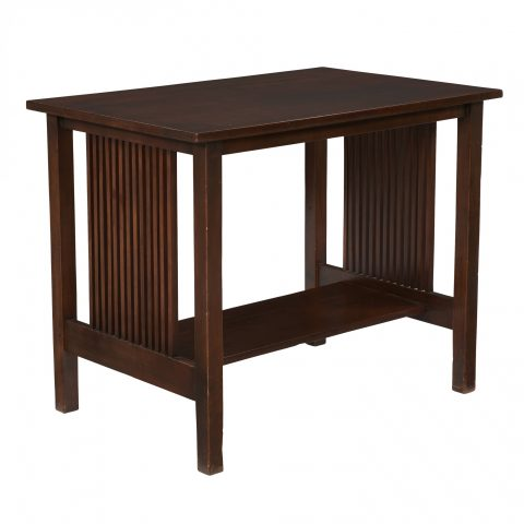 Gustav Stickley Spindle Table