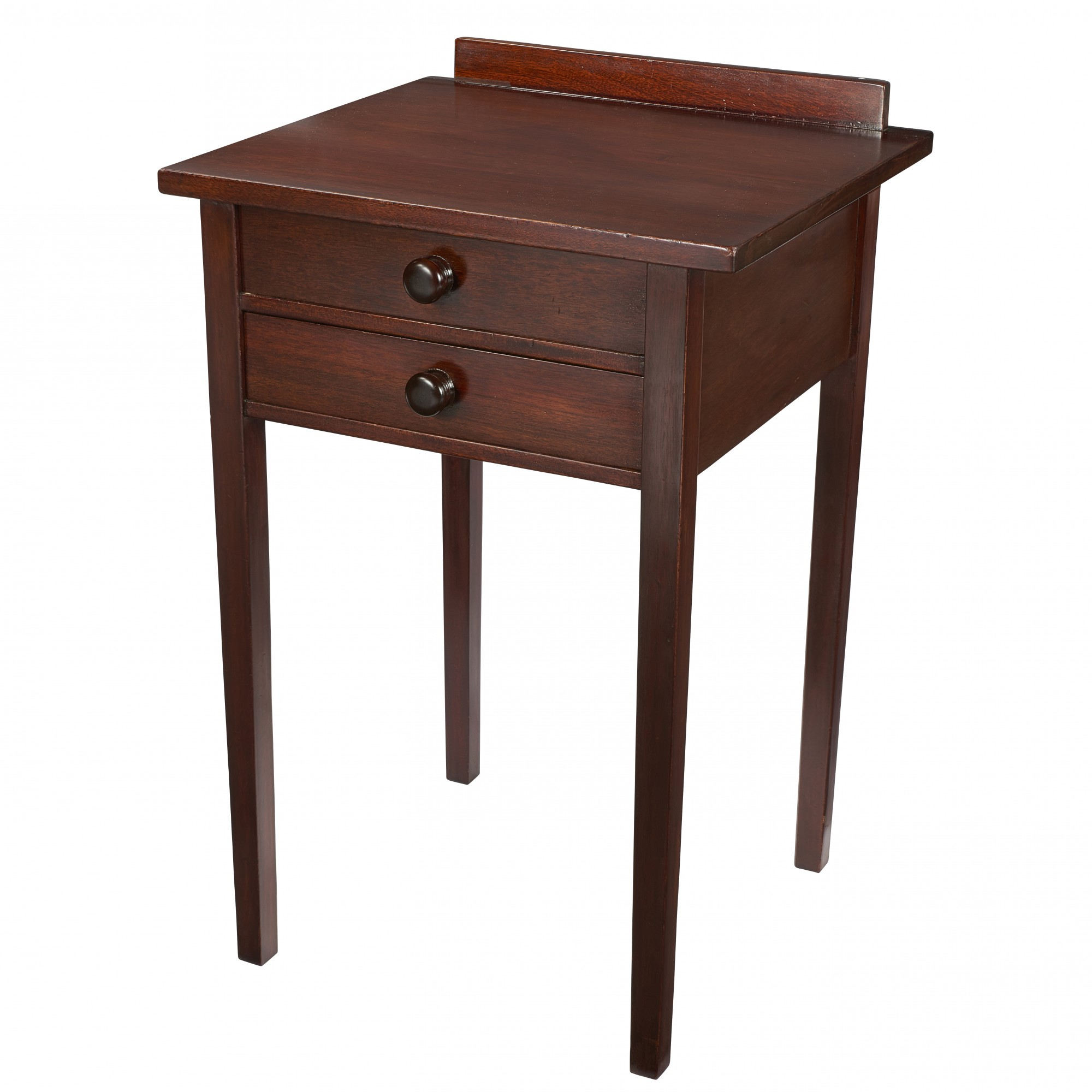 Gustav Stickley Two-Drawer Table