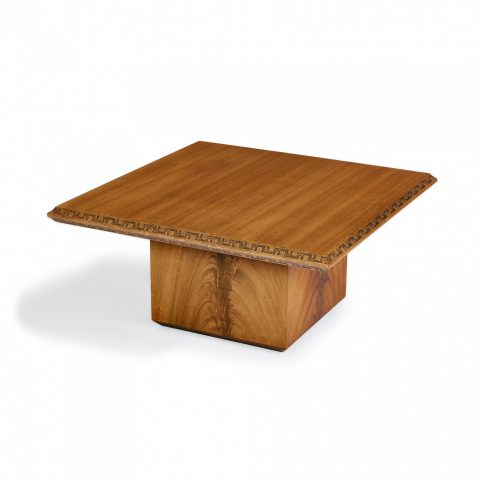 Frank Lloyd Wright for Heritage Henredon Coffee Table
