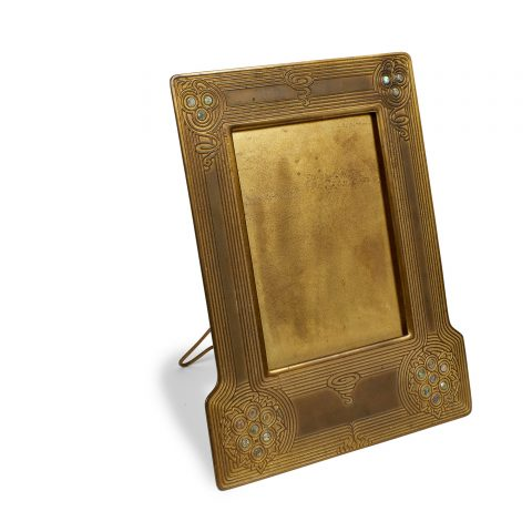 Tiffany Studios, Abalone picture frame, #1147