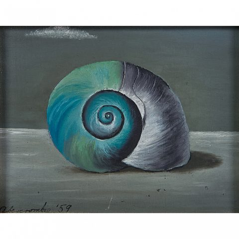 Gertrude Abercrombie, Shell, 1959