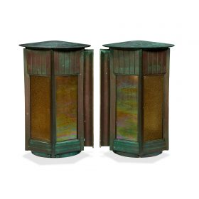 exterior sconces, large form