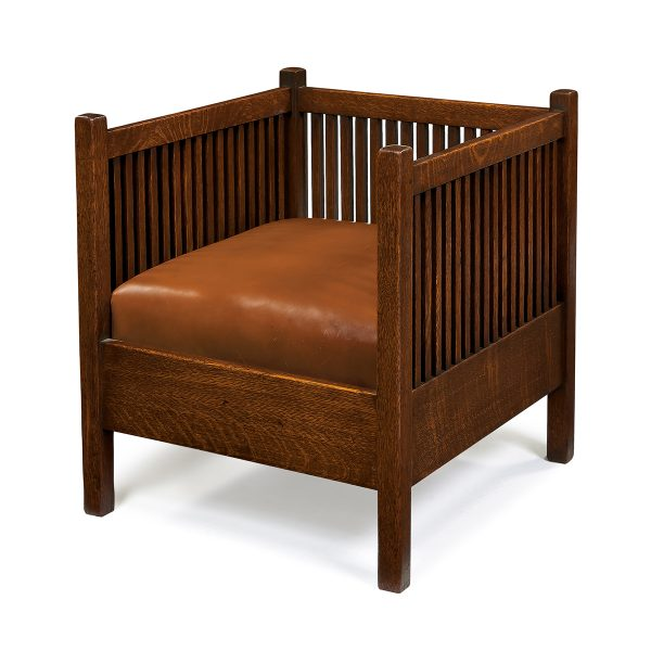spindle cube chair, #391