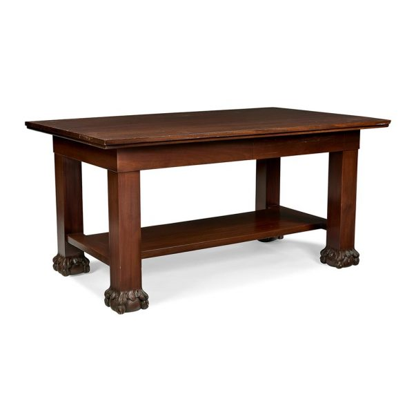 "Tobey Furniture Company partner's desk 60""w x 36""d x 30""h"