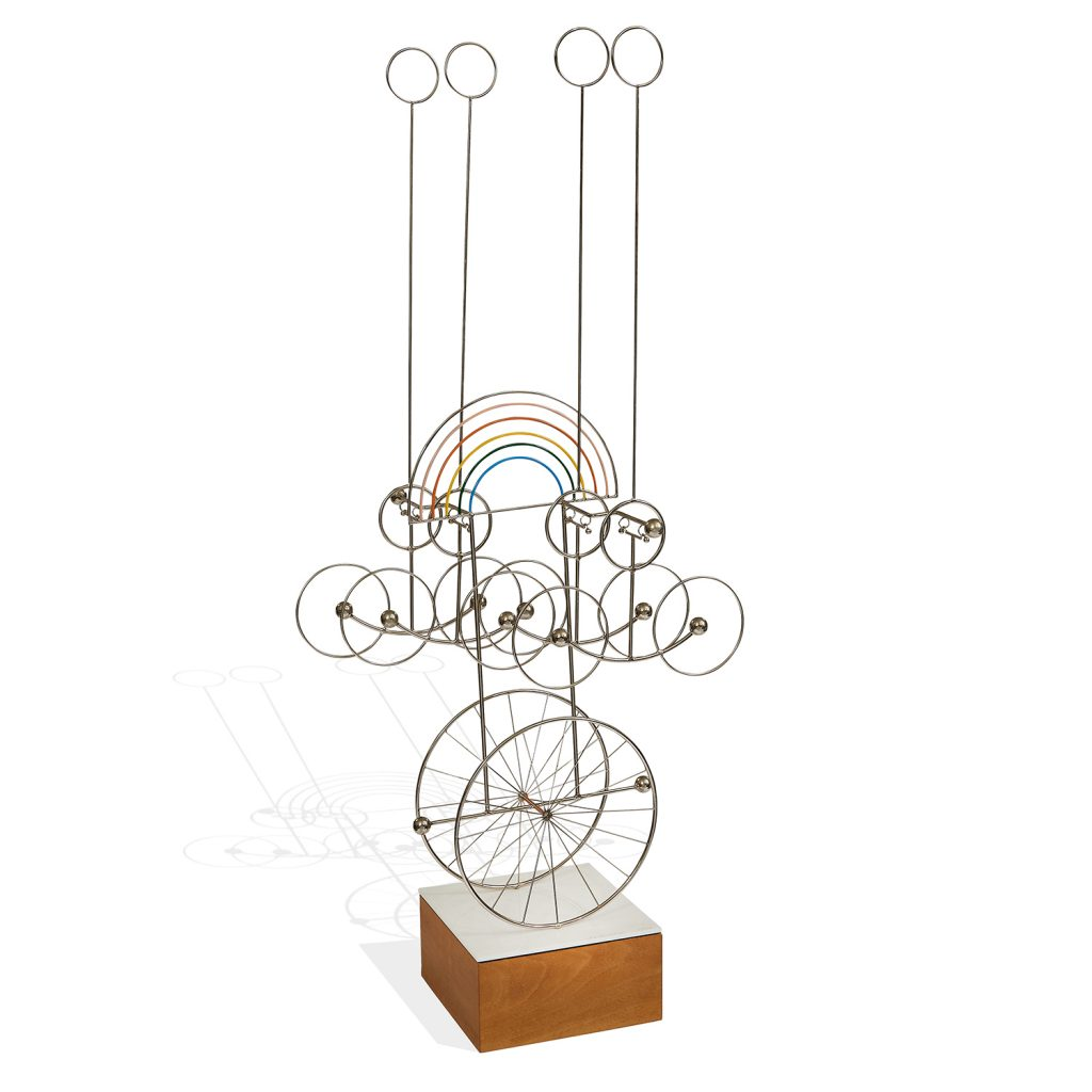 Joseph A. Burlini, Kinetic Sculpture, 1978