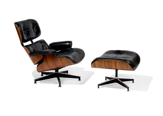 Charles Eames and Ray Eames for Herman Miller, 670/671 lounge chair and ottoman
