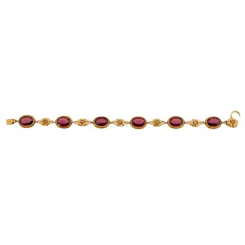 Attributed to Edward Everett Oakes, floral bracelet