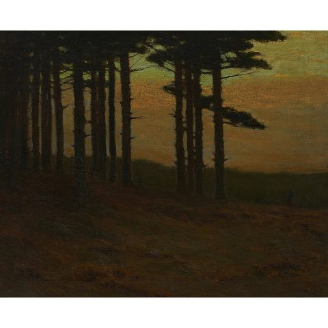 Charles Warren Eaton, Edge of a Pine Tree Forest