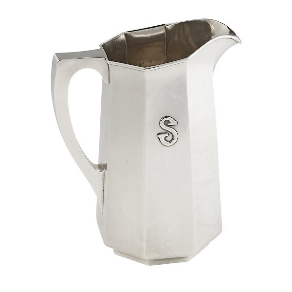 The Kalo Shop, large six-pint paneled pitcher, #G574L