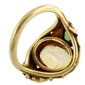 Attributed to Edward Everett Oakes, ladies ring
