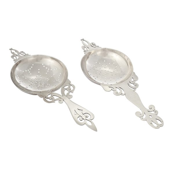 Stavre Gregor Panis, tea strainers, two