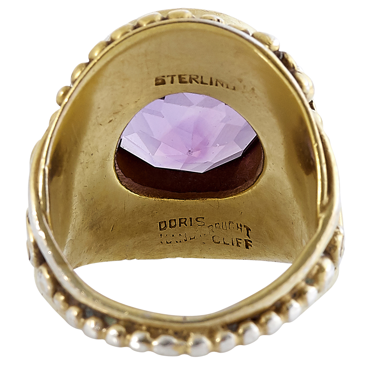 Doris Cliff, ladies ring