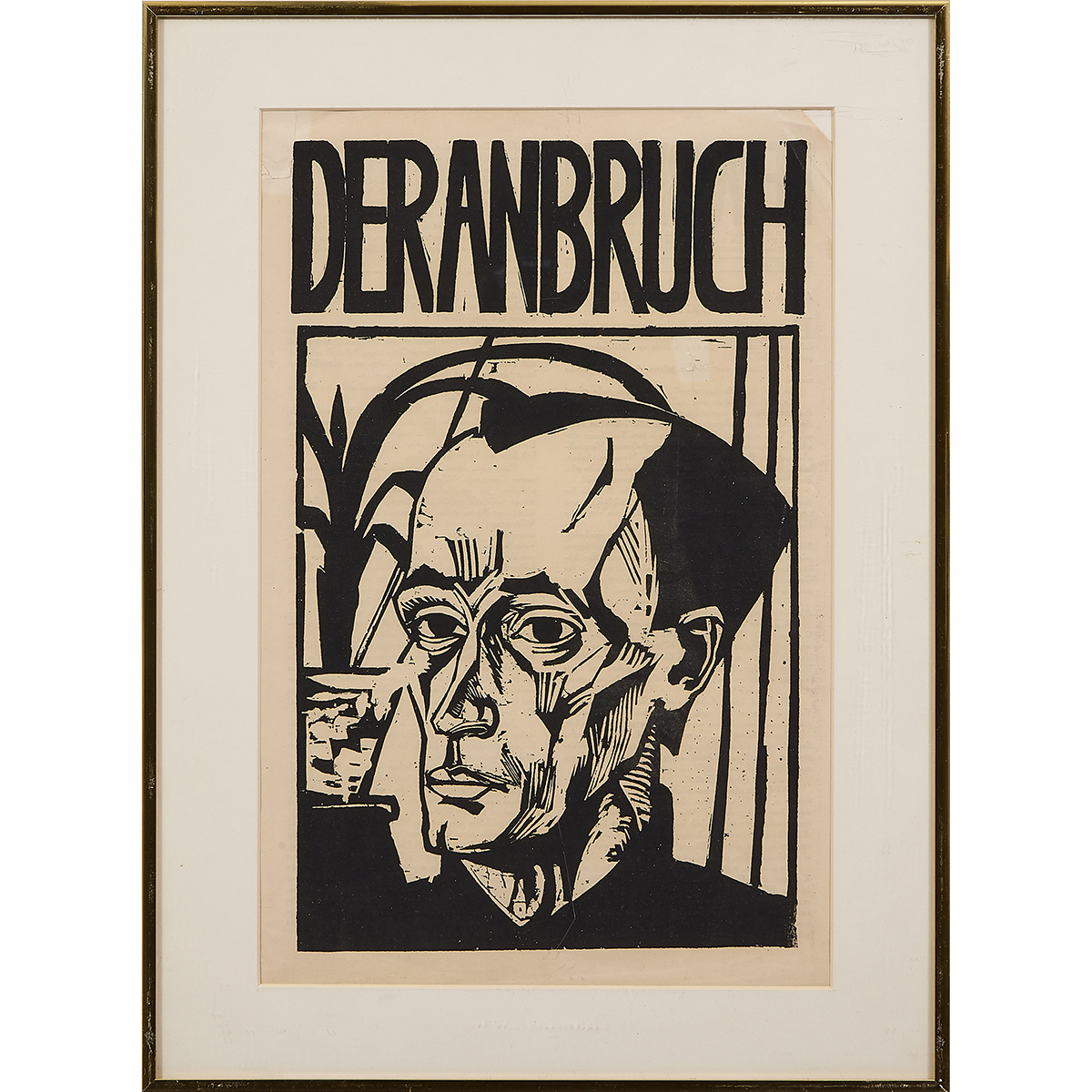 Artists Unknown , (20th century), German Expressionist Deranbruch Broadsheets (a group of three works), lithograph and linocut repro...