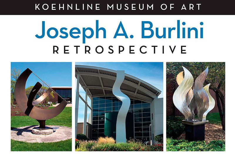Joseph A. Burlini Retrospective, Koehnline Museum of Art