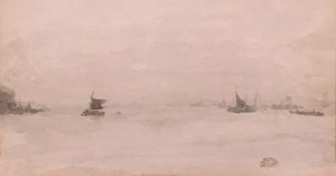 Grey and Silver — Liverpool, 1881-1883, James Abbott McNeill Whistler