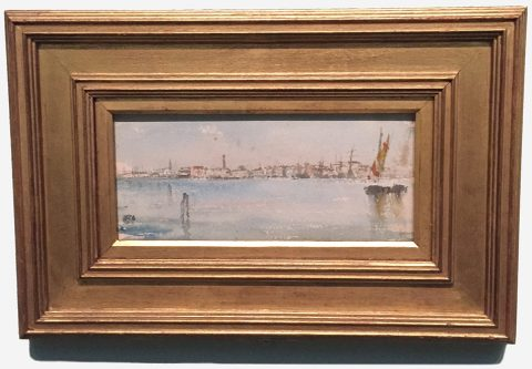 'Venice Harbor', 1879-1880, James Abbott McNeill Whistler