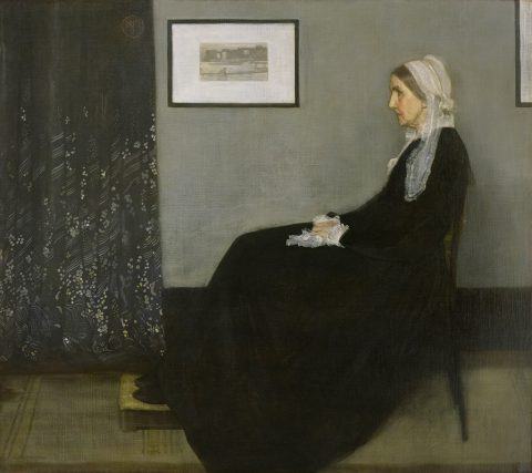 Arrangement in Grey and Black, No. 1: Portrait of the Artist's Mother, James Abbott McNeill Whistler