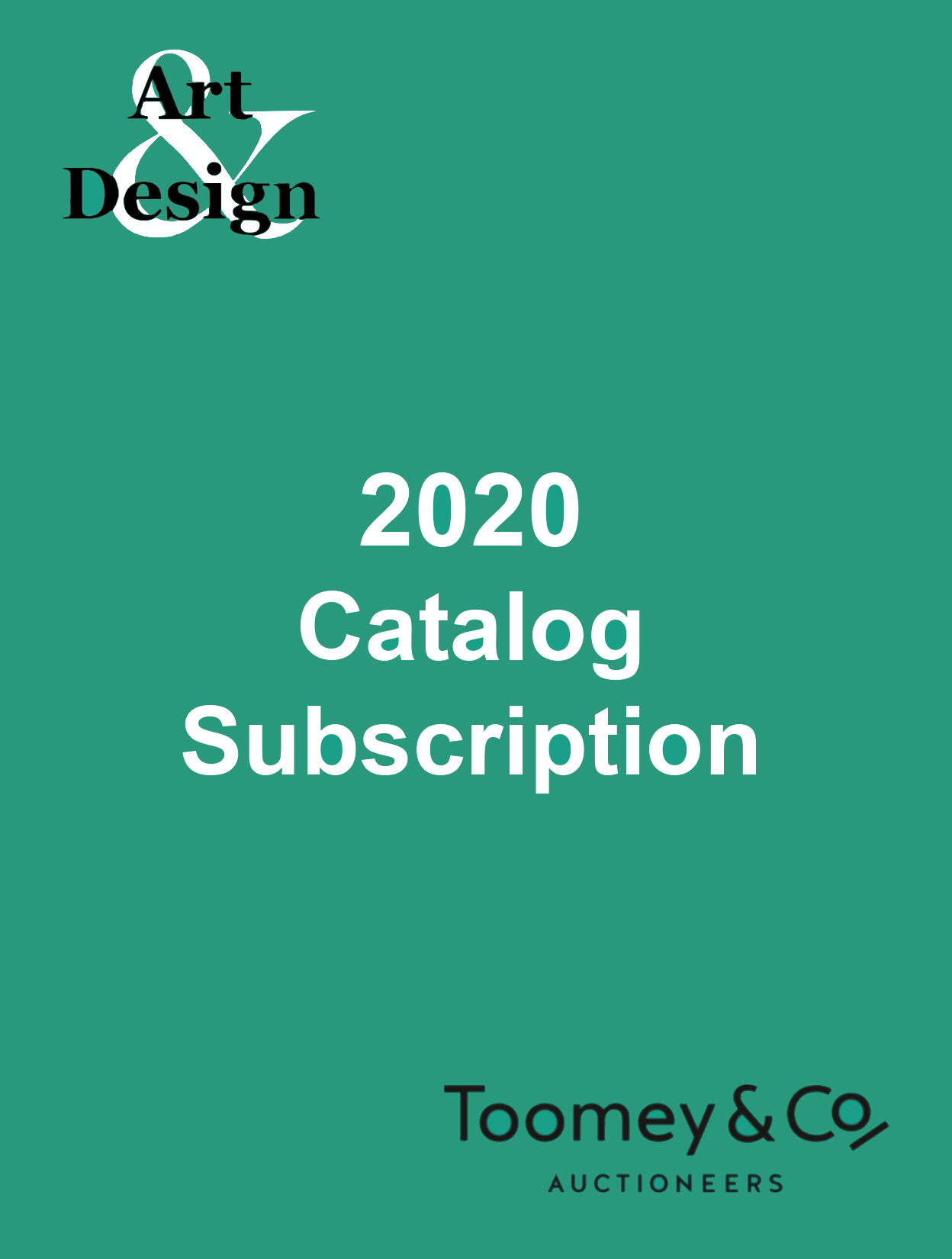 2020 Catalog Subscription, Art & Design