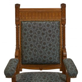 Attributed to Herter Brothers dining chairs set of 10 eight side chairs and two armchairs