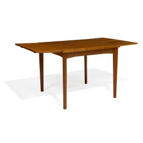"S. Burchardt-Nielsen for Möbel BB Fabrik dinette table 33""sq x 29""h"