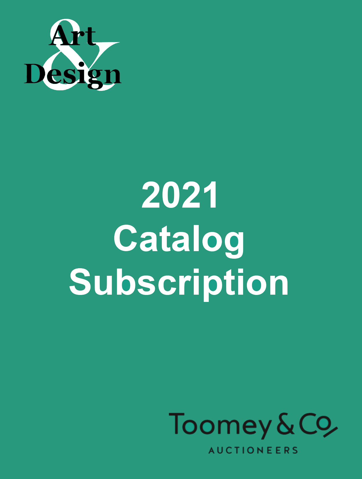 2021 Catalog Subscription, Art and Design