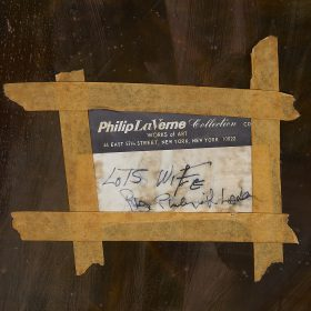 "Philip LaVerne (1907-1987) & Kelvin LaVerne (b. 1937) for LaVerne Originals Lot's Wife wall panel 28 1/2""w x 1 1/2""d x 39""h"