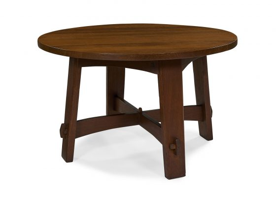 Gustav Stickley, library table, #636