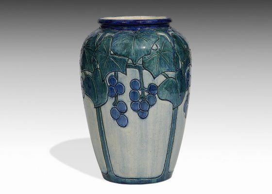 Roberta Beverly Kennon for Newcomb College, 'Grapevine' vase