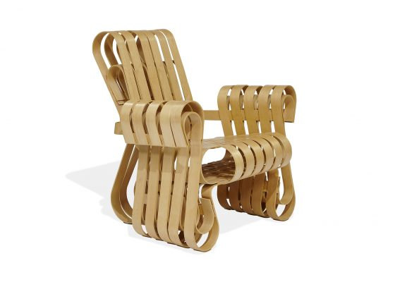 Frank Gehry for Knoll, 'Power Play' club chair