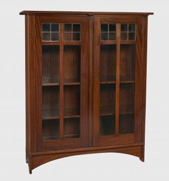 <strong>Gustav Stickley</strong>, bookcase, #702